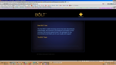 BOLT 2.5.2 Discontinued